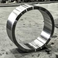 Preturned, seamless rolled ring